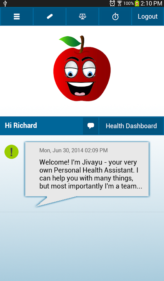 Jivayu BP Coach- screenshot