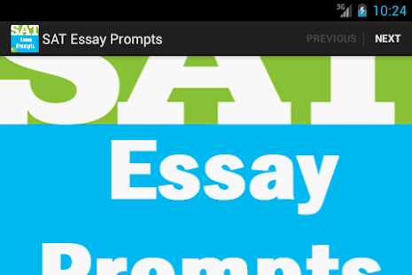 sat essay prompts - FREE screenshot