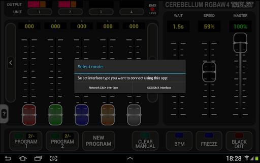 Cerebellum RGBAW 4