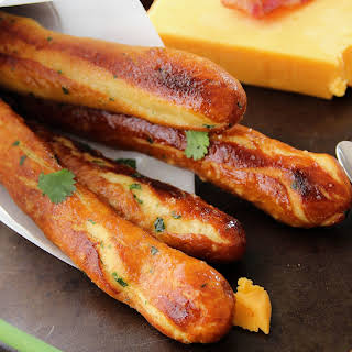 Baked Soft Pretzel Sticks.
