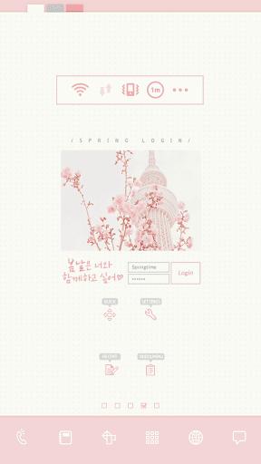 玩個人化App|Spring Login 도돌런처 테마免費|APP試玩