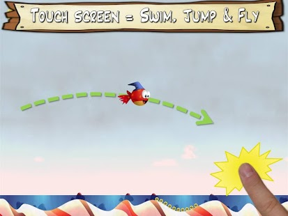 Jump & Splash-tiny Wings Fish - screenshot thumbnail