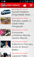 Screenshot of Otomotif