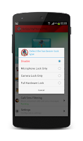 Screenshot of NoSpy MyPhone: Anti Spy