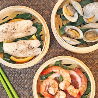 Steamed Seafood Medley.