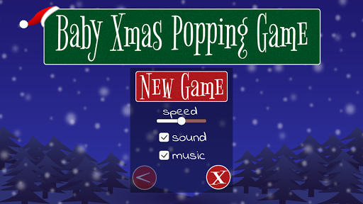 Baby Xmas Popping Game