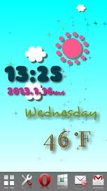 Weather Flow ! Live Wallpaper Screenshot 1