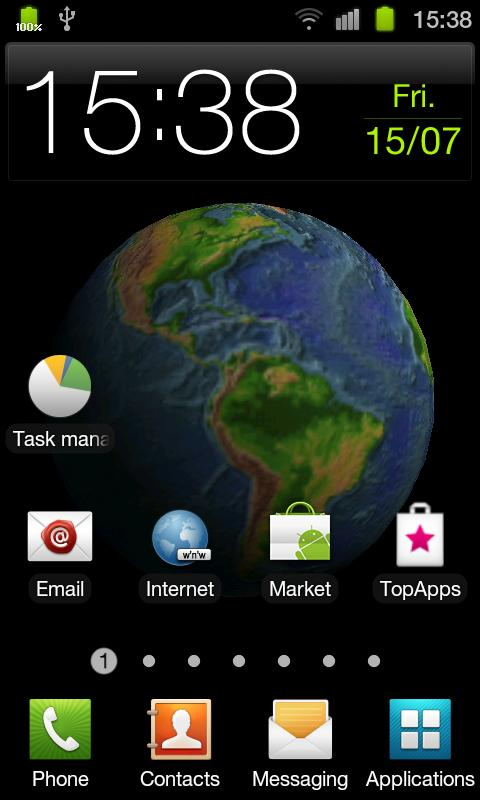 Planet Earth 3D Live Wallpaper- screenshot