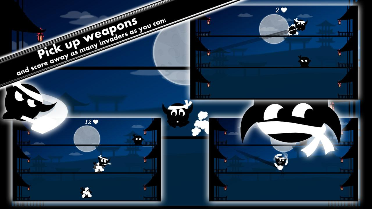 Ninja Cow- screenshot