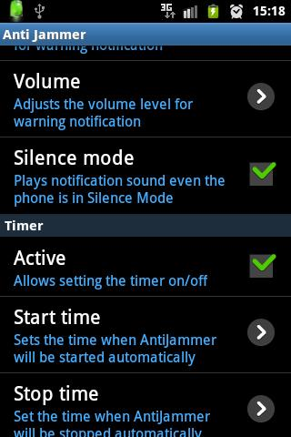 Anti Jammer FREE (GSM SIGNAL) - screenshot