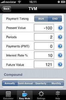 Calculadora Financiera Gratis