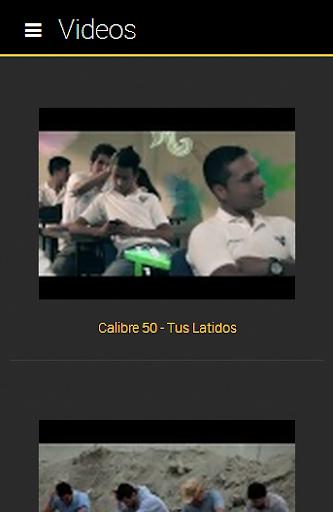 Calibre 50 Fan Club