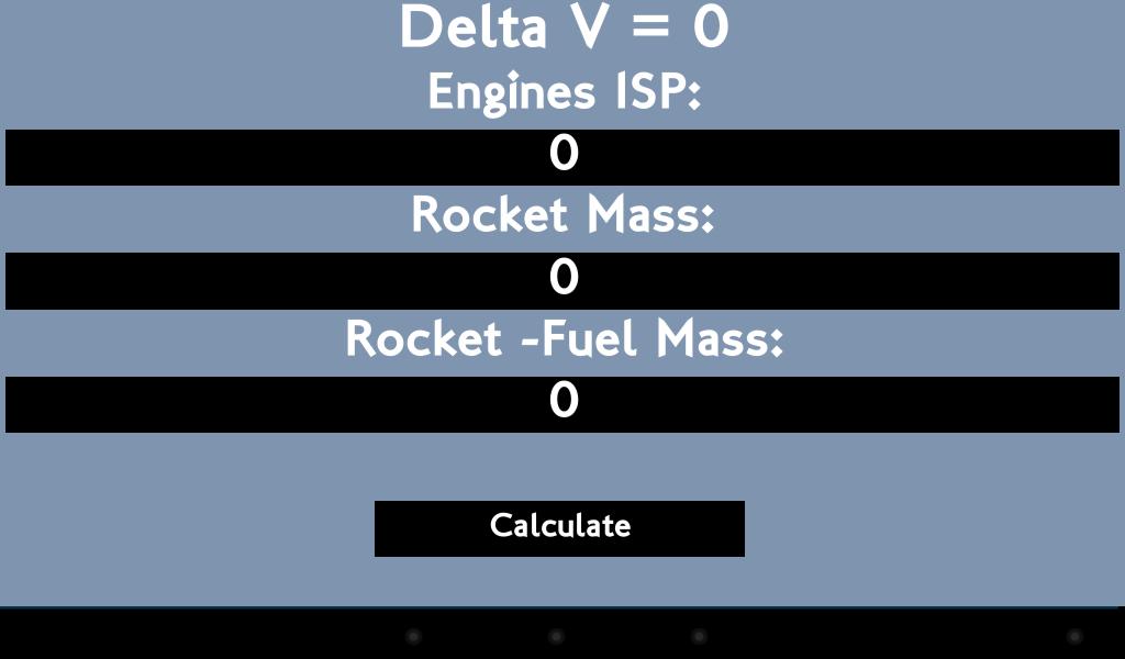 kerbal space program delta v calulator - photo #22