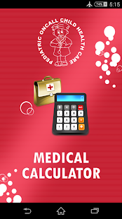 Medical Calculators - screenshot thumbnail