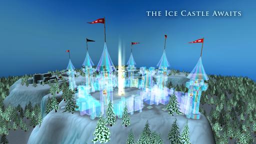 Princess Frozen Ice Castle