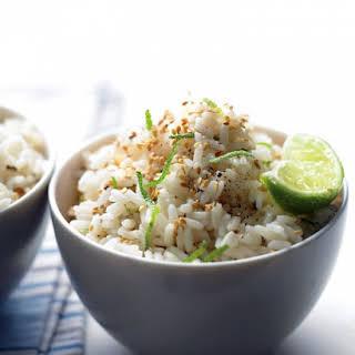 Sesame-Lime Rice.
