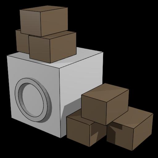 Self Storage Unit Size LOGO-APP點子