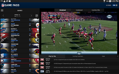 NFL Game Pass screenshot 5