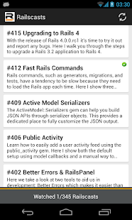 Railscasts - screenshot thumbnail