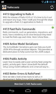 Railscasts - screenshot thumbnail