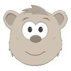Theodore for Kids: cute bear for your baby icon