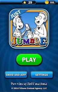 Just Jumble- screenshot thumbnail