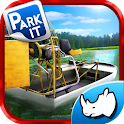 Swamp Boat Parking - 3D Racer icon