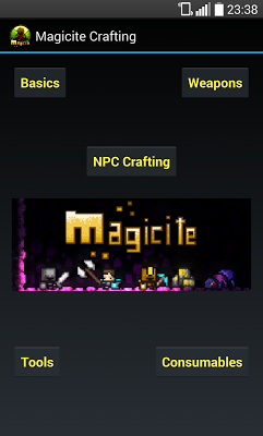 Magicite Crafting - screenshot