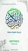 Screenshot of Holy Quran - Maher Maikli