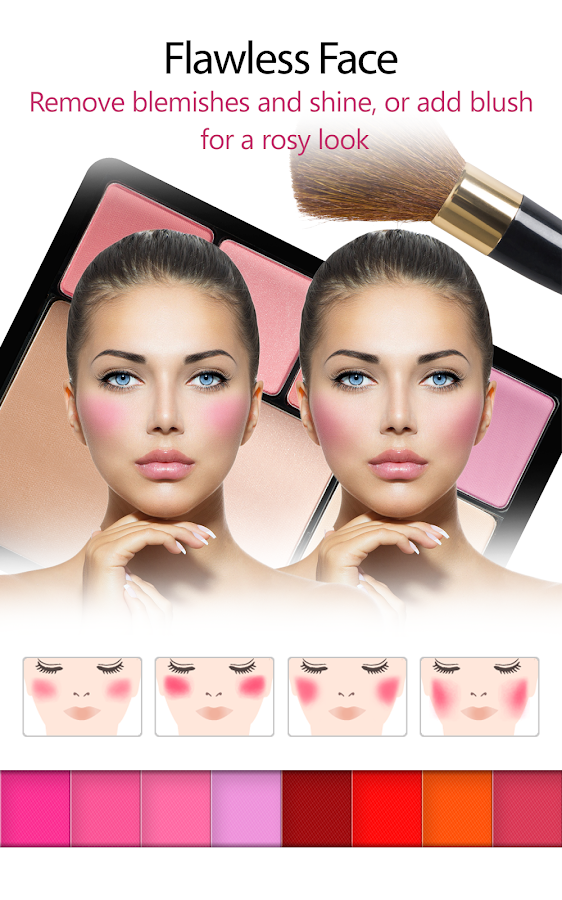 YouCam Makeup -Makeover Studio - screenshot