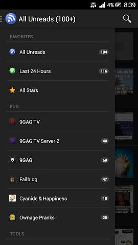Screenshots for 9GAG TV Pro