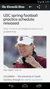 The Greenville News - screenshot thumbnail