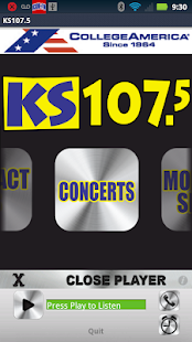KS107.5 -Today's Hottest Music - screenshot thumbnail