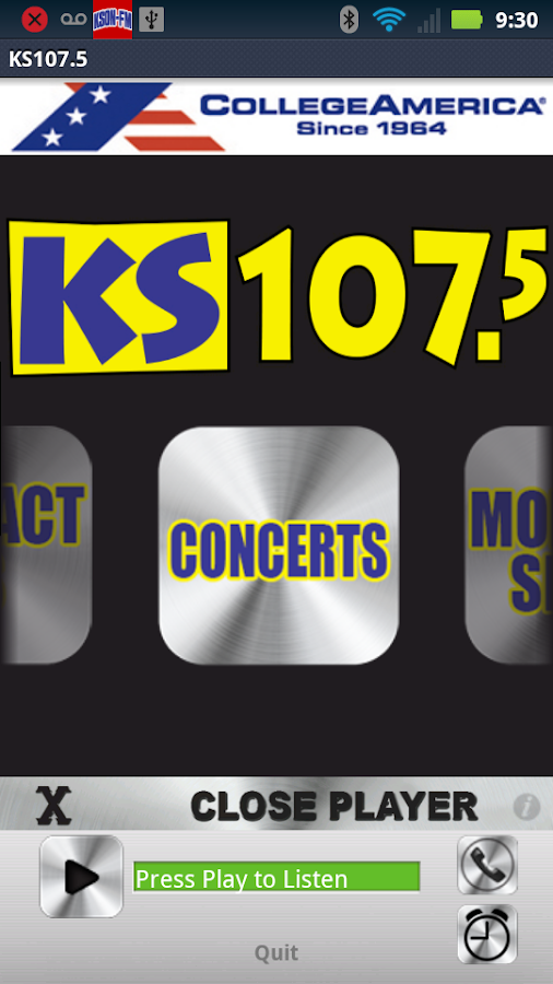 KS107.5 -Today's Hottest Music - screenshot