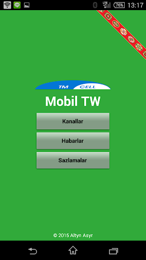 TMCell Mobile TV