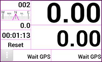 Screenshot of Gpstrip