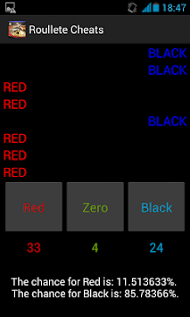 Roulette Cheats Free apk screenshot