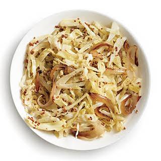 Cider-Braised Cabbage.
