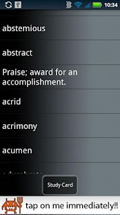 SAT Vocabulary Suite - screenshot thumbnail
