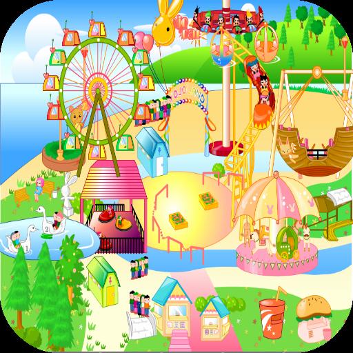 เกมส์แต่งสวนสนุก 休閒 App LOGO-APP試玩