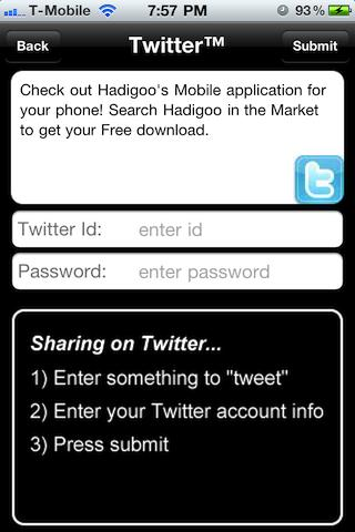 Hadigoo - screenshot