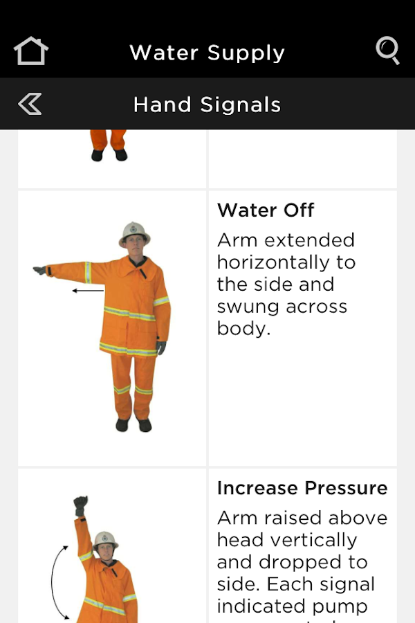 NSW RFS Firefighter Pocketbook- screenshot