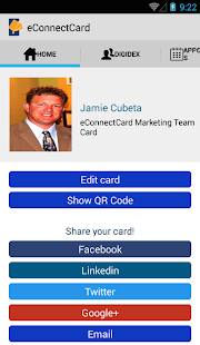 eConnectCard | Business Cards- screenshot thumbnail