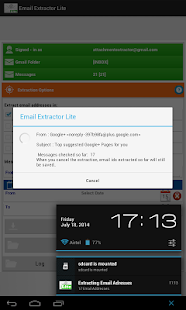 Email Extractor Lite- screenshot thumbnail
