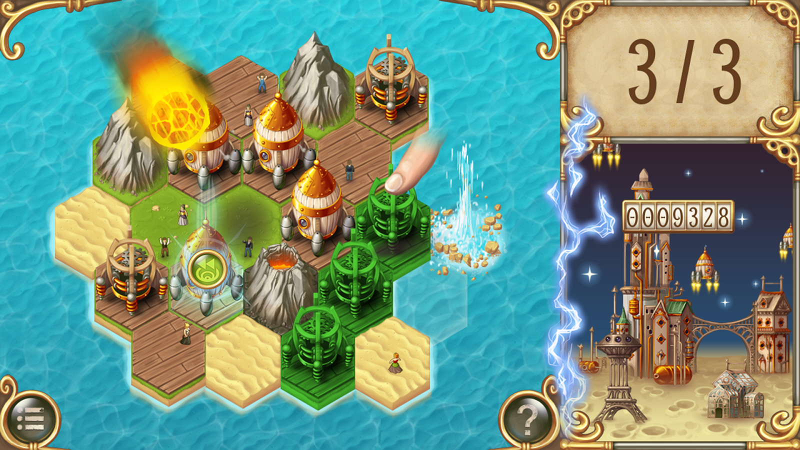 Rocket Island- screenshot