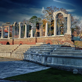 by Gergana Stefanova - City,  Street & Park  Historic Districts ( park, stara zagora, streer, bulgaria, city )