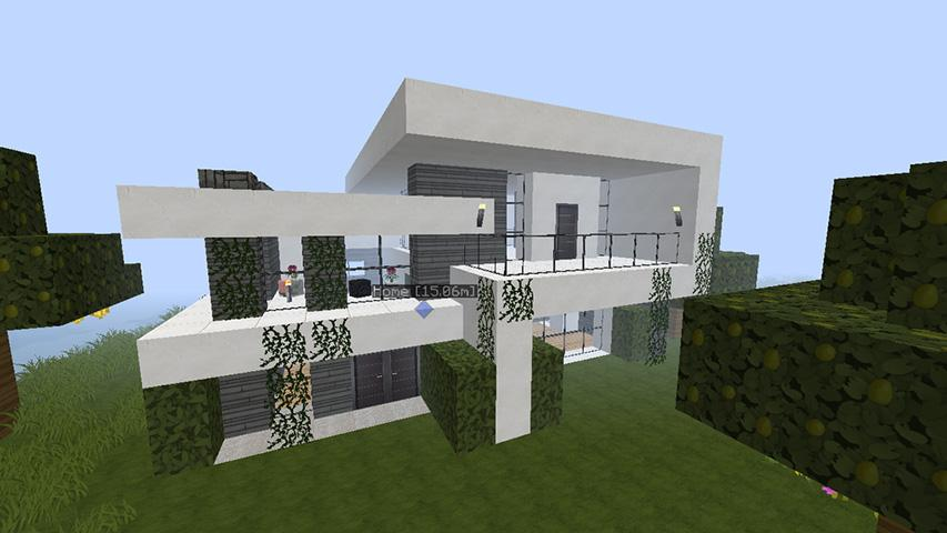 Amazing of minecraft house android apps on google play for Amazing house pictures