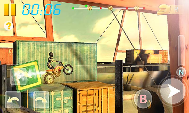 Screenshots of Bike Racing 3D for Android