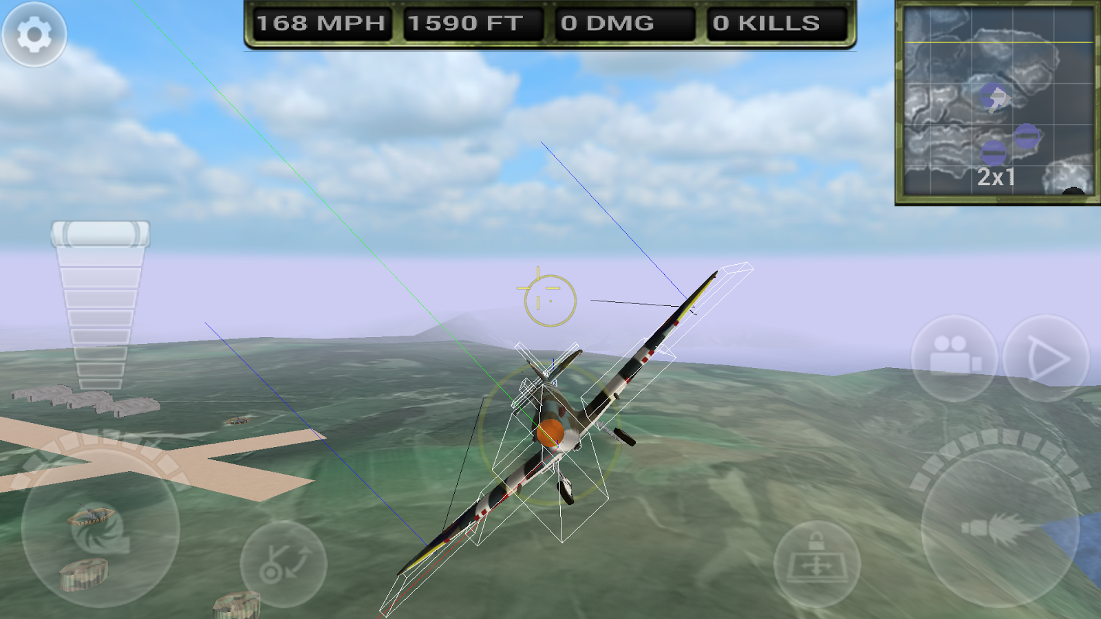 Flight Simulator - Game - Typing Games Zone