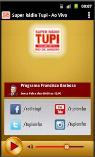 Super Radio Tupi- screenshot thumbnail